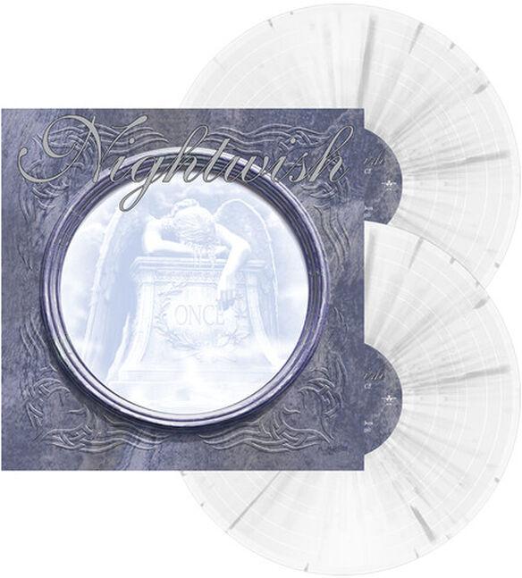 Nightwish - Once (White w/Grey Splatter Vinyl)