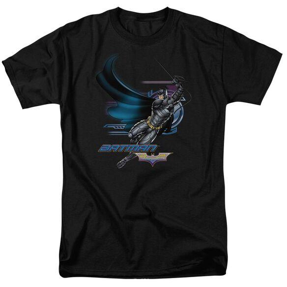 Dark Knight Flyer Short Sleeve Adult Black T-Shirt