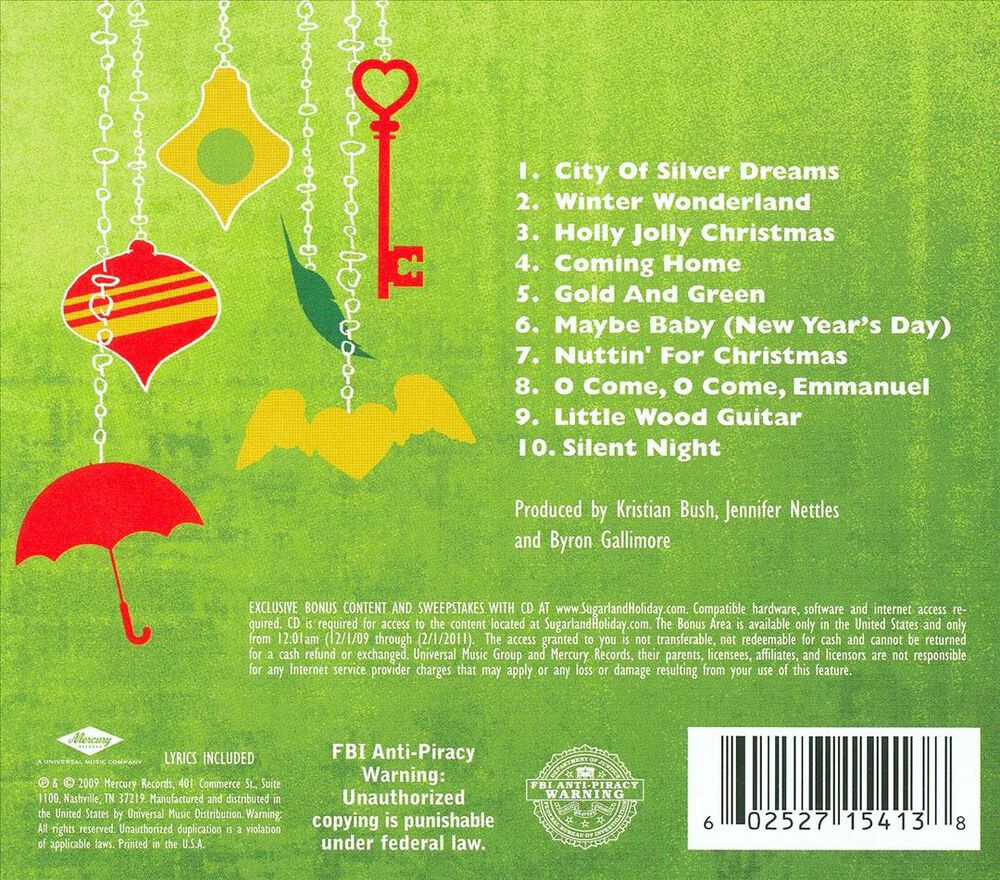 Gold and Green by Sugarland - Used on CD | FYE