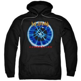 Def Leppard Adrenalize Adult Pull Over Hoodie Black