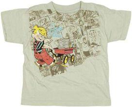 Dennis the Menace Wagon Toddler T-Shirt