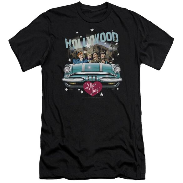 I Love Lucy Hollywood Road Trip Premuim Canvas Adult Slim Fit