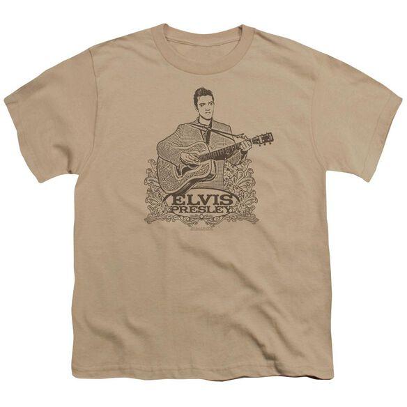 Elvis Laurels Short Sleeve Youth T-Shirt