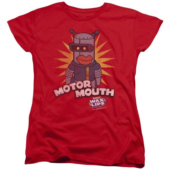 Dubble Bubble Motor Mouth Short Sleeve Womens Tee T-Shirt