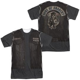 Sons Of Anarchy Juice Costume (Front Back Print) Short Sleeve Adult Poly Crew T-Shirt