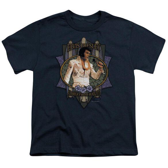 Elvis Aloha From Hawaii Short Sleeve Youth T-Shirt