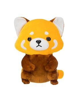Friendly Red Panda Standing Plush