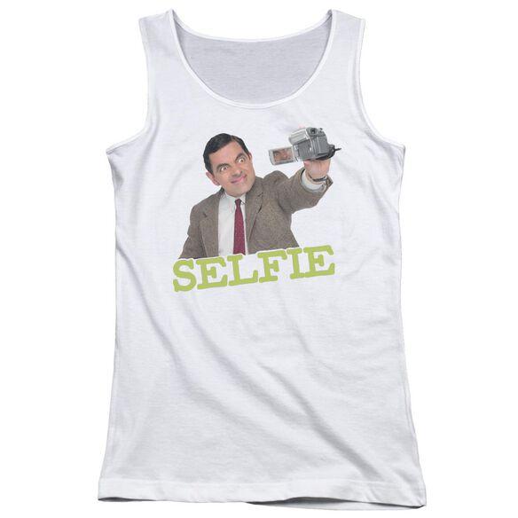 Mr Bean Selfie Juniors Tank Top