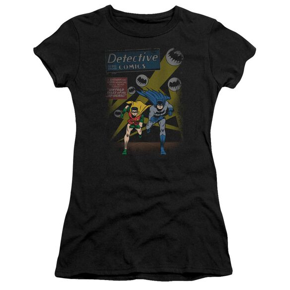 Batman Dynamic Duo Short Sleeve Junior Sheer T-Shirt