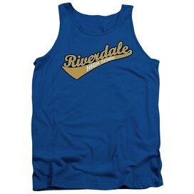 Archie Comics Riverdale High School Adult Tank Royal