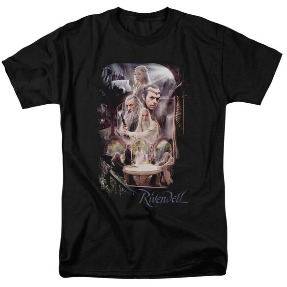 The Hobbit Rivendell Short Sleeve Adult T-Shirt