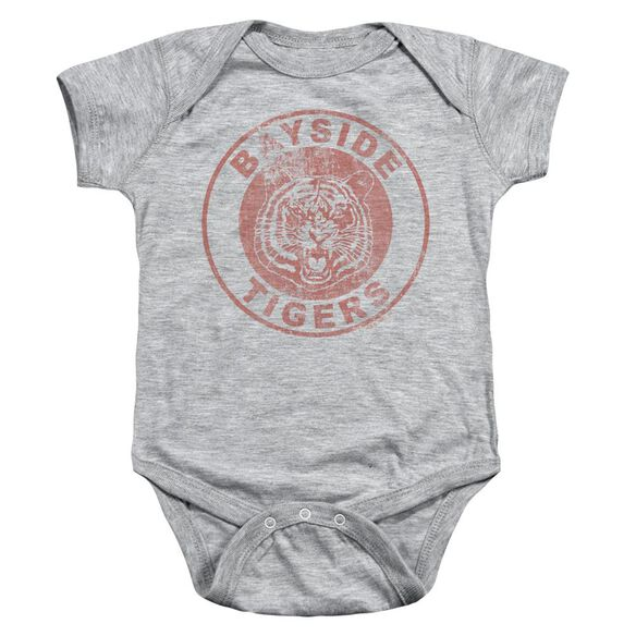 Saved By The Bell Tigers Infant Snapsuit Athletic Heather