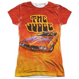 Chevy The Judge Short Sleeve Junior Poly Crew T-Shirt