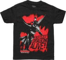 Dragons Riders of Berk Fastest Youth T-Shirt
