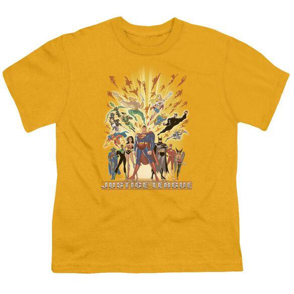 Jla United Short Sleeve Youth T-Shirt