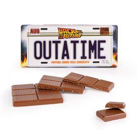 Back To The Future OUTATIME Chocolate Bar
