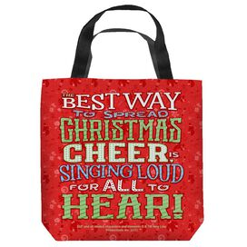 Elf Xmas Cheer Tote