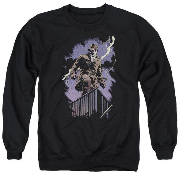 Watchmen Rorschach Night Adult Crewneck Sweatshirt