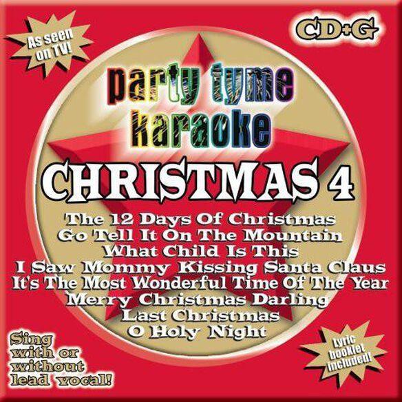 Party Tyme Karaoke: Christmas 4 / Various