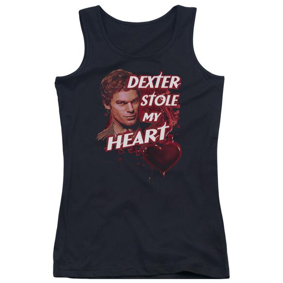 Dexter Bloody Heart Juniors Tank Top
