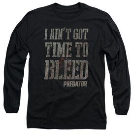 Predator Bleeding Time Long Sleeve Adult T-Shirt