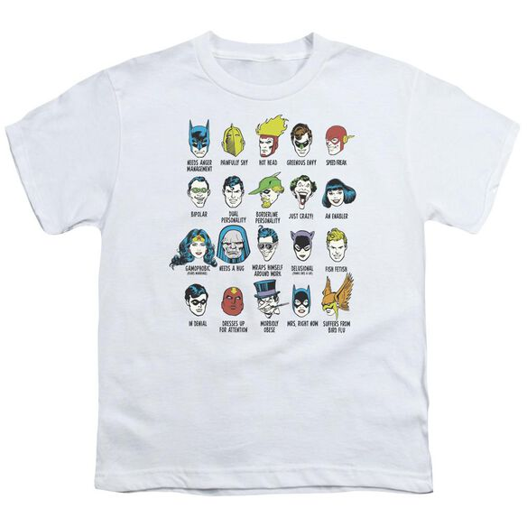Dc Superhero Issues Short Sleeve Youth T-Shirt