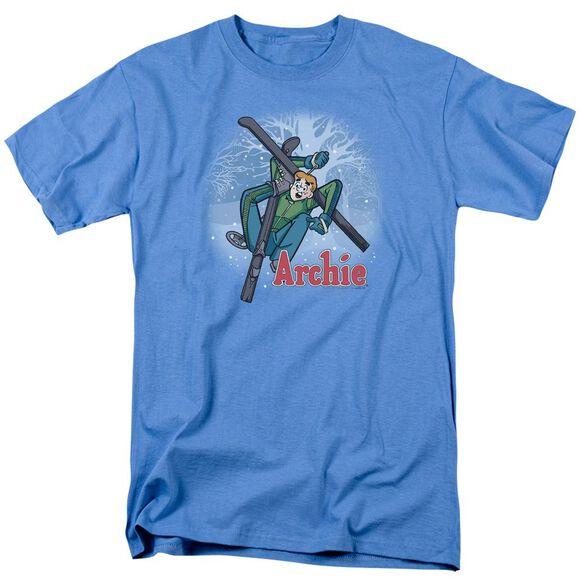 Archie Comics Bunny Hill Short Sleeve Adult Carolina Blue T-Shirt