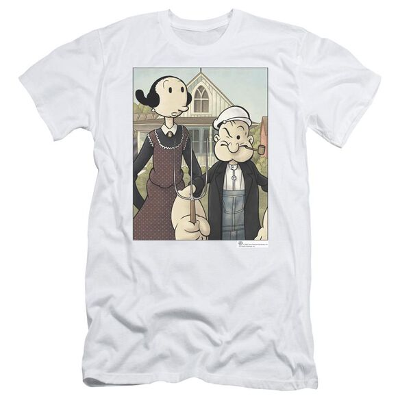 Popeye Popeye Gothic Short Sleeve Adult T-Shirt