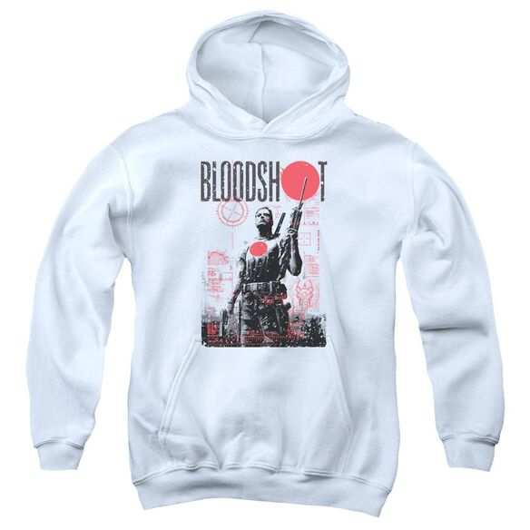 Bloodshot Death By Tech Youth Pull Over Hoodie