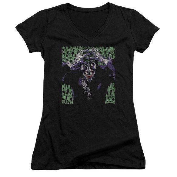 Batman Insanity Junior V Neck T-Shirt