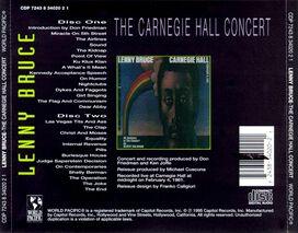 Lenny Bruce - Carnegie Hall Concert