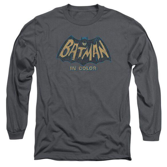 Batman Classic Tv In Color Long Sleeve Adult T-Shirt