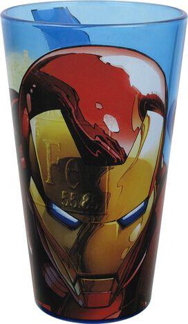 Iron Man Avengers Initiative Pint Glass Set