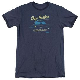 Dexter Moonlight Fishing Adult Heather Ringer Navy