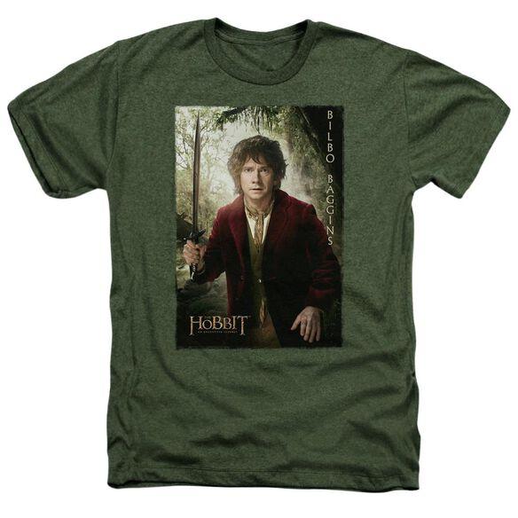 The Hobbit Bilbo Poster Adult Heather Military