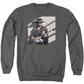 Stevie Ray Vaughan Texas Flood Adult Crewneck Sweatshirt
