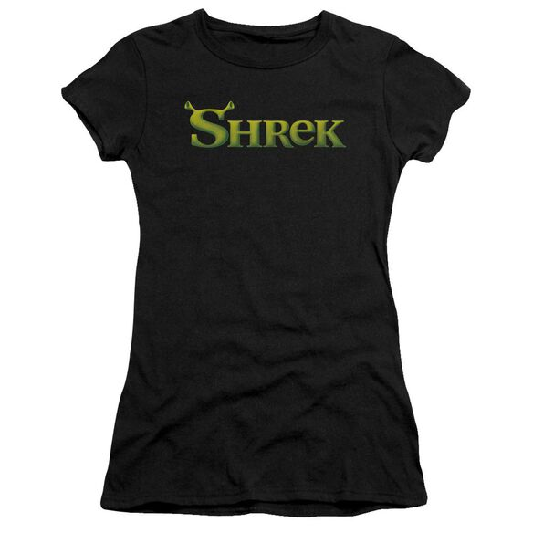 Shrek Logo Short Sleeve Junior Sheer T-Shirt