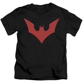 Batman Beyond Beyond Bat Logo Short Sleeve Juvenile T-Shirt