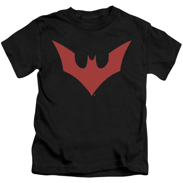 Batman Beyond Beyond Bat Logo Short Sleeve Juvenile T-Shirt