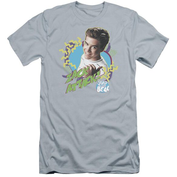 Saved By The Bell Zack Attack Premuim Canvas Adult Slim Fit Light