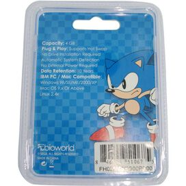 Sonic the Hedgehog Flash Drive Keychain
