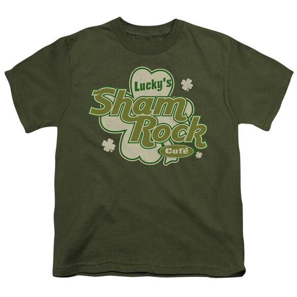 LUCKYS SHAMROCK CAFE- YOUTH T-Shirt