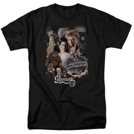 LABYRINTH 25 YEARS OF MAGIC - S/S ADULT 18/1 - BLACK T-Shirt