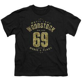 Woodstock White Lake Short Sleeve Youth T-Shirt
