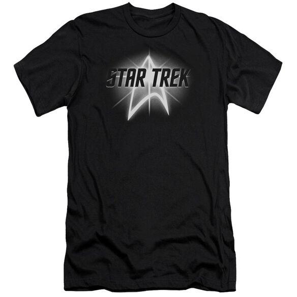 Star Trek Glow Logo Premuim Canvas Adult Slim Fit
