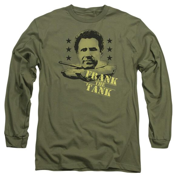 Old School Frank The Tank Long Sleeve Adult Military T-Shirt