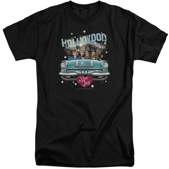 I Love Lucy Hollywood Road Trip Short Sleeve Adult Tall T-Shirt
