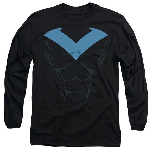 Batman Nightwing Uniform Long Sleeve Adult T-Shirt
