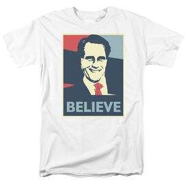 Believe Short Sleeve Adult T-Shirt