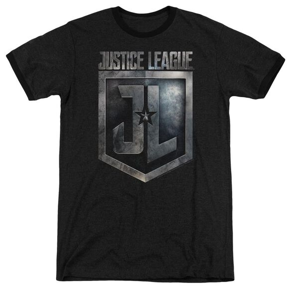 Justice League Movie Shield Logo Adult Ringer